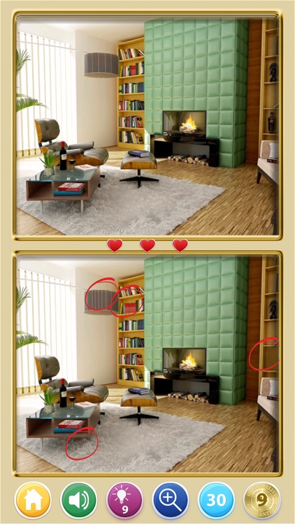 Find The Difference! Rooms HD screenshot-4