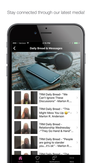 Image of TRM Global for iPhone