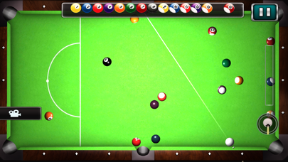 Pool Billiard game City 3D screenshot two