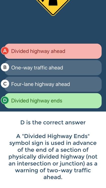 Florida Driving Permit Test screenshot-3