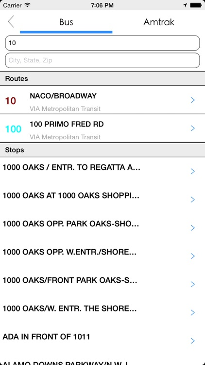 Transit Tracker - San Antonio screenshot-4