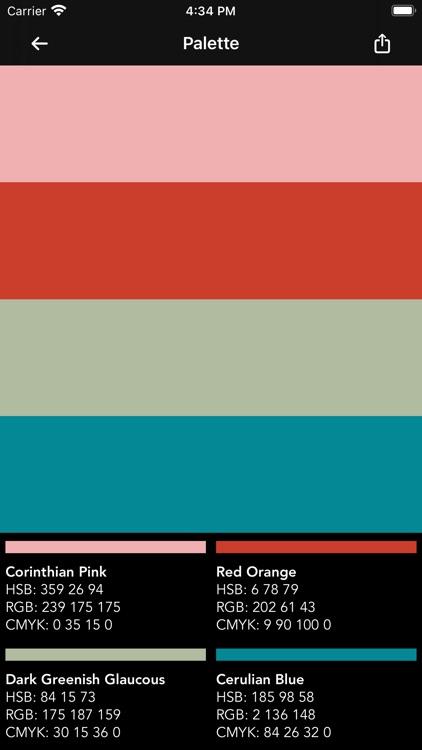 Sanzo Color Palettes screenshot-5