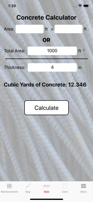 Rebar Calc on the App Store