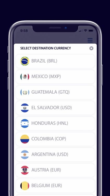 USEND - Send money worldwide screenshot-3