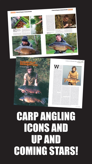 Screenshot for Big Carp Magazine in United States App Store