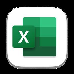 Ícone do app Microsoft Excel