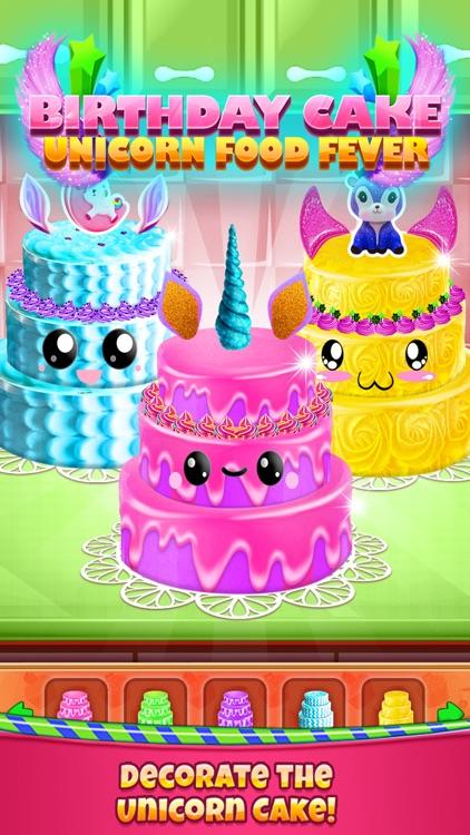 Birthday Cake - Unicorn Food screenshot-3