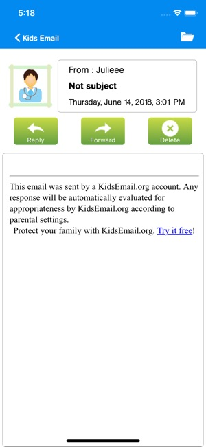 Kids Email on the App Store