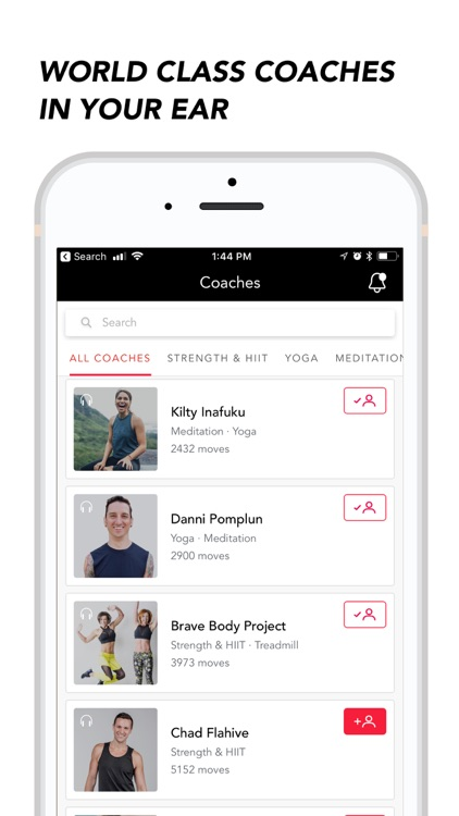 MoveWith: Audio HIIT Workouts
