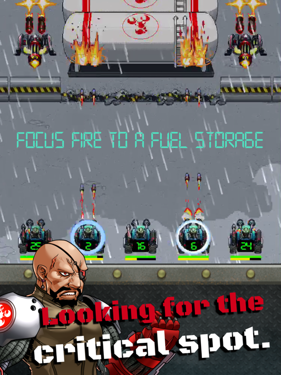 Tank Army - 高速アクション・シューティングゲームのおすすめ画像3