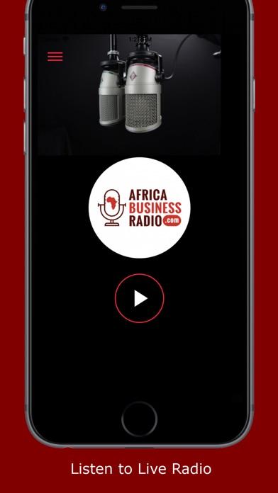 Screenshot of Africa Business Radio App