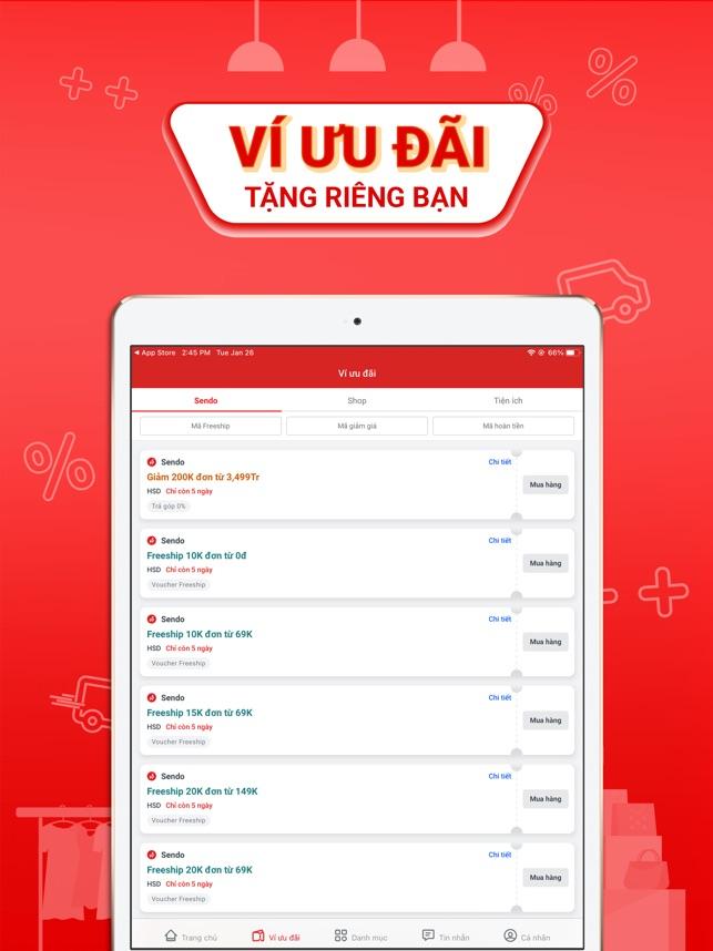 Sendo:10.10 Siêu Hội Hàng Việt