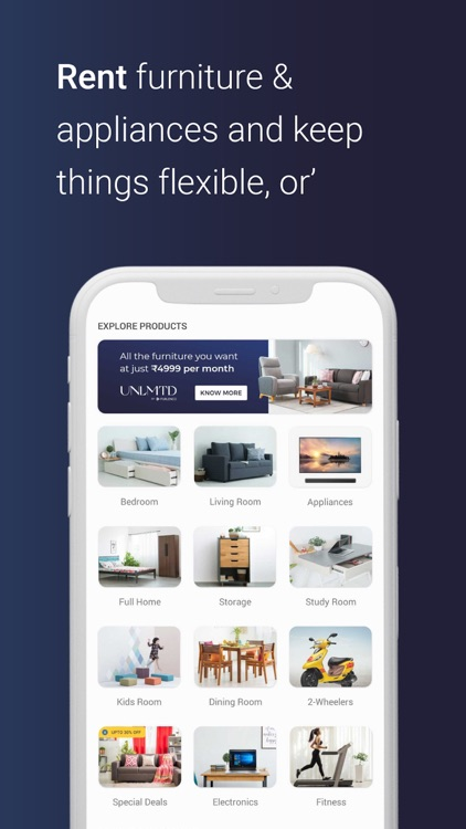Furlenco - Furniture Rentals