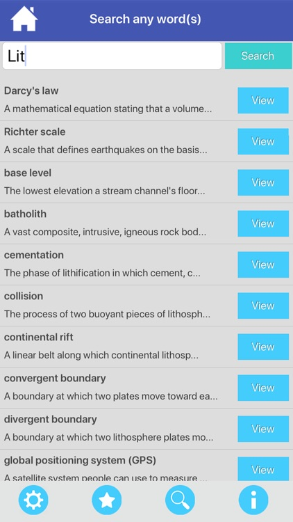 The Earth Science Flashcards screenshot-9