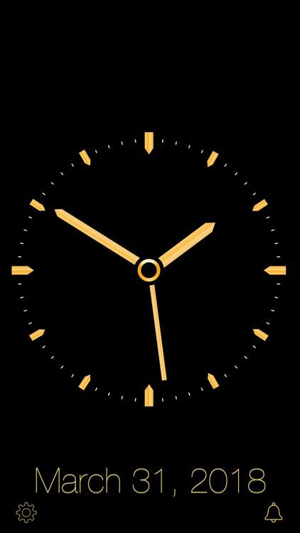Gold Luxury Clock screenshot-7