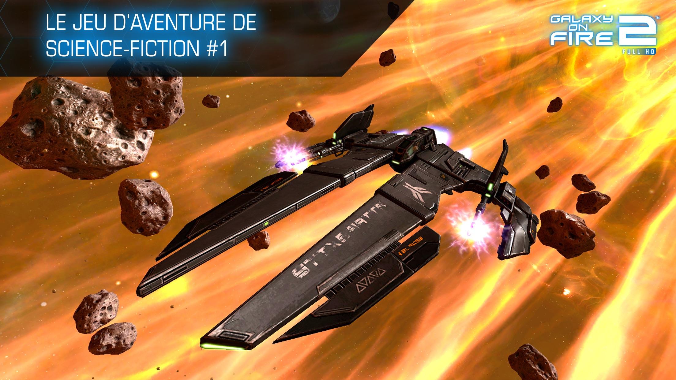Galaxy on Fire 2™ HD Screenshot