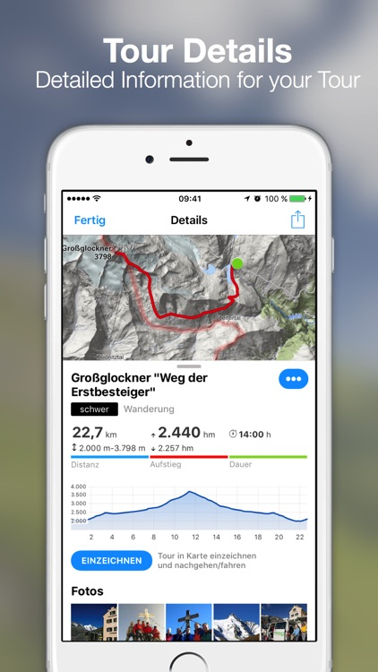 bergfex Tours & GPS Tracking