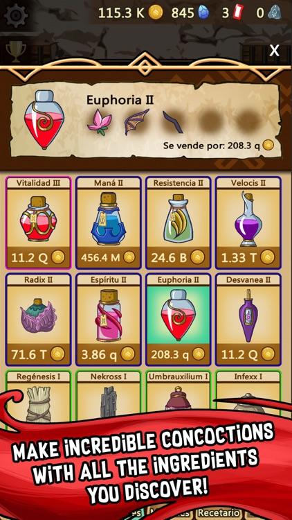 Medieval Clicker Alchemy screenshot-4