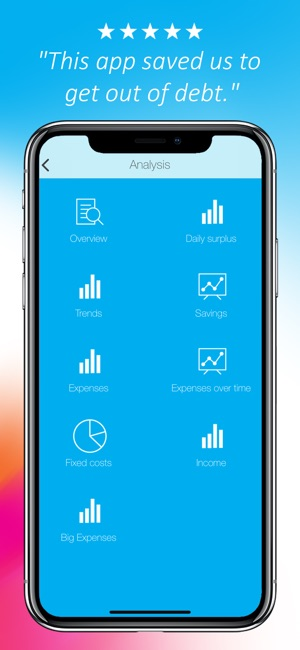 daily budget original on the app store