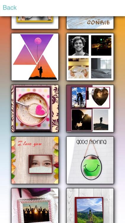 Love Collage Photo Editor screenshot-4