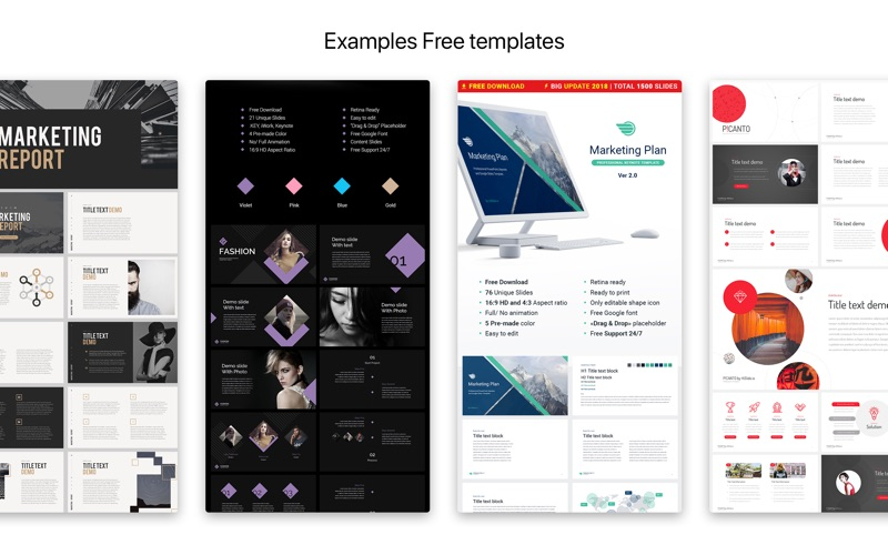 Hislide Templates for Keynote for Mac