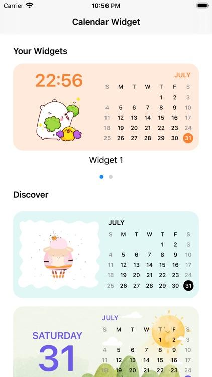 Calendar Widget: Color Widgets screenshot-3