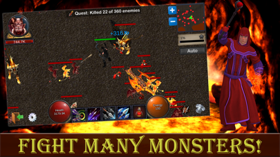 Heroes and Dragons. screenshot three