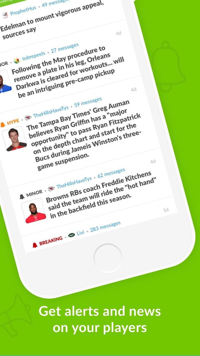 Sleeper Fantasy Football Screenshot