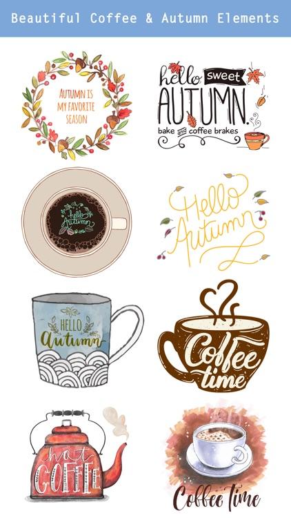 Autumn Love - Coffee & Quotes screenshot-3
