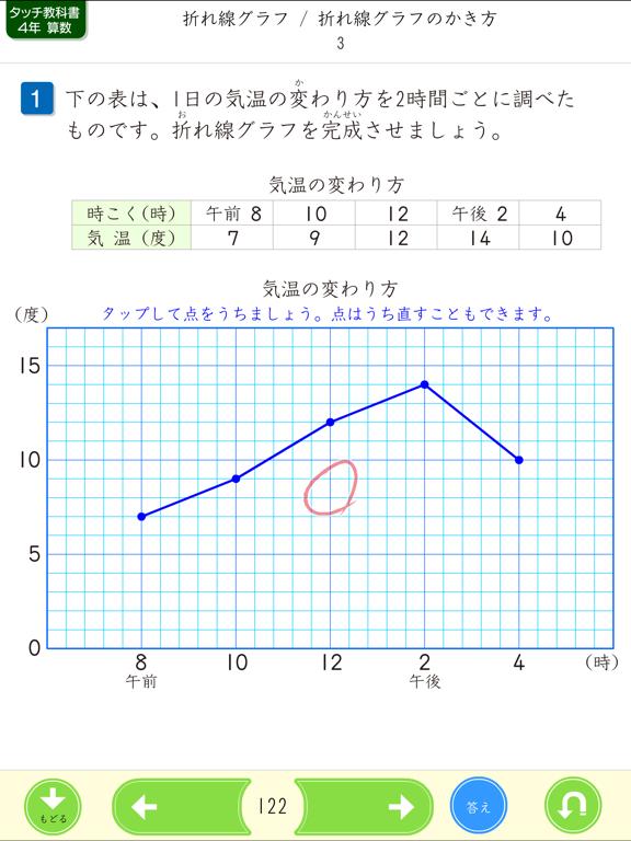 タッチ教科書 小学4年算数【スクール版】のおすすめ画像5