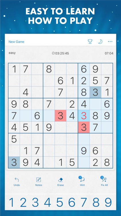 Sudoku Genuine Classic Puzzles screenshot-2