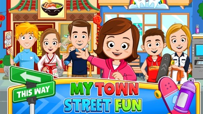 Screenshot for My Town : Street Fun in United States App Store