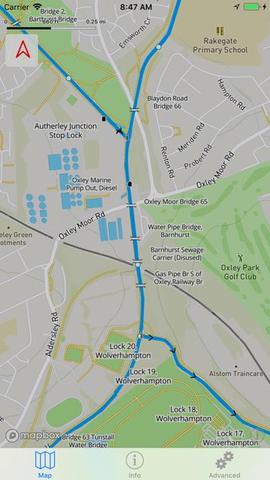 Open Canal Map UK screenshot three