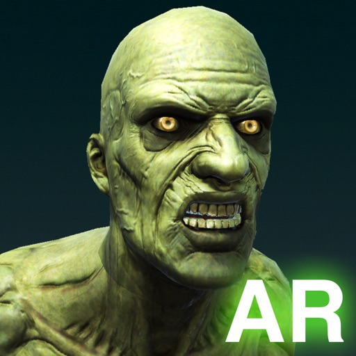 Green Alien Zombie Dance AR iOS App