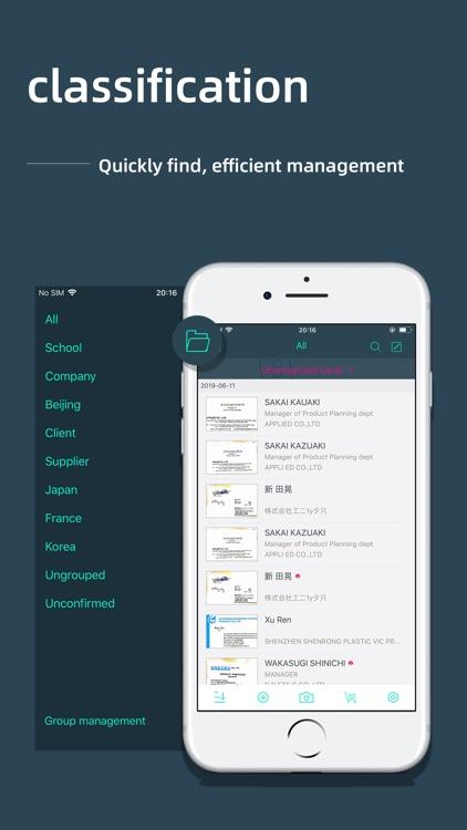 FoxCard -Business card scanner screenshot-3