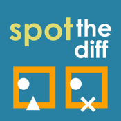 Spot The Diff : a challenging spot the difference game icon