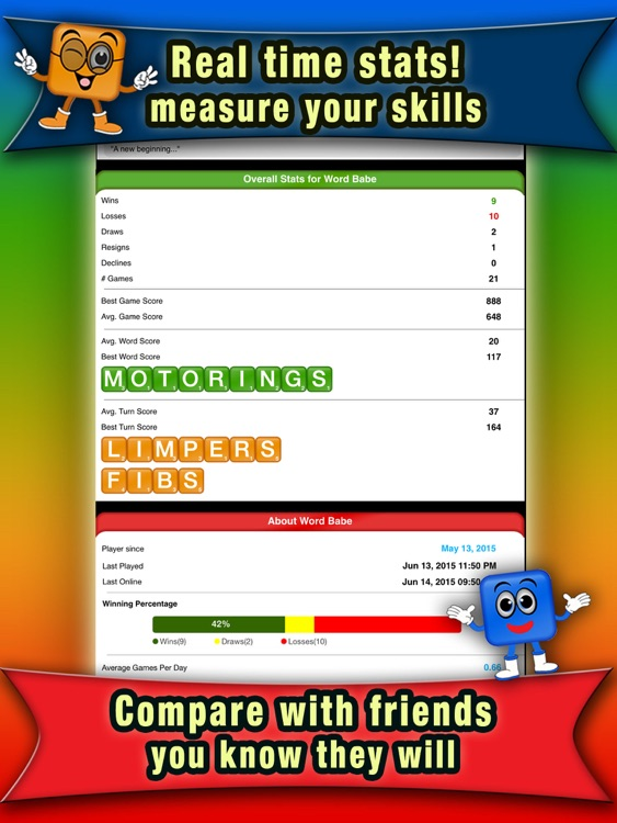 Word Colors for iPad screenshot-3