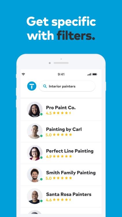 Thumbtack: Hire Service Pros screenshot-3