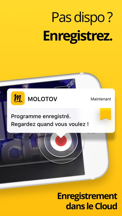 Molotov - TV en direct, replay iPhone