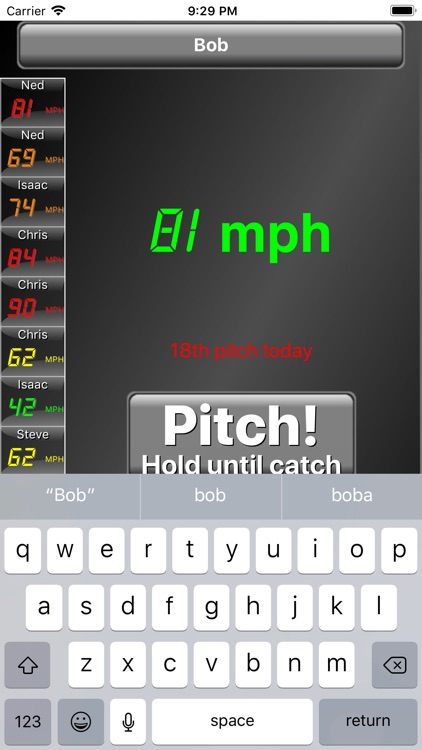 Pitch Radar Gun screenshot-3