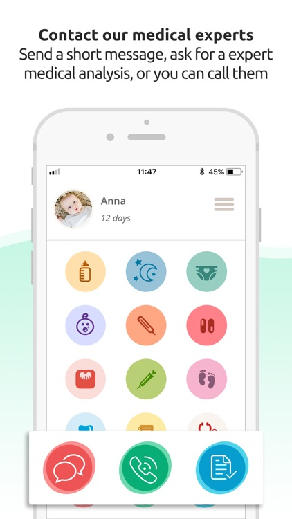 LittleDot - healthy baby diary