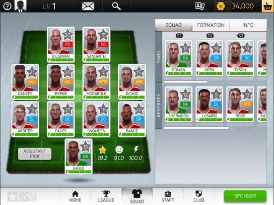 New Star Soccer Manager screenshot #4