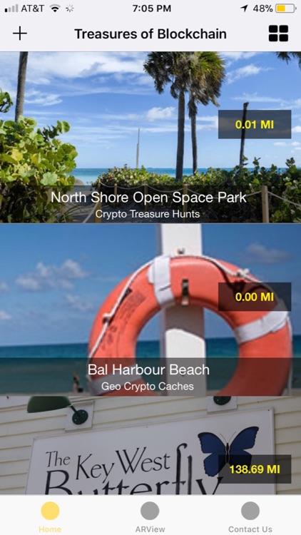 Treasures of Blockchain AR screenshot-3