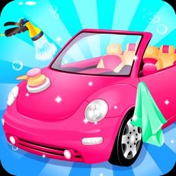 Super car wash game & mechanic