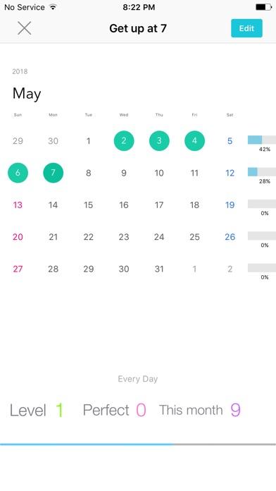 Weple Habit - Daily Routine Screenshots