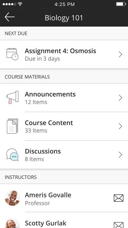Blackboard Instructor screenshot-4