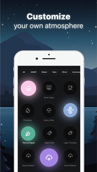 TaoZen - Relax & Sleep Sounds Screenshot