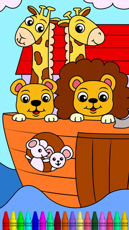 Bible Coloring Book for Kids