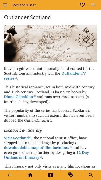 Scotland's Best: Travel Guide screenshot 5