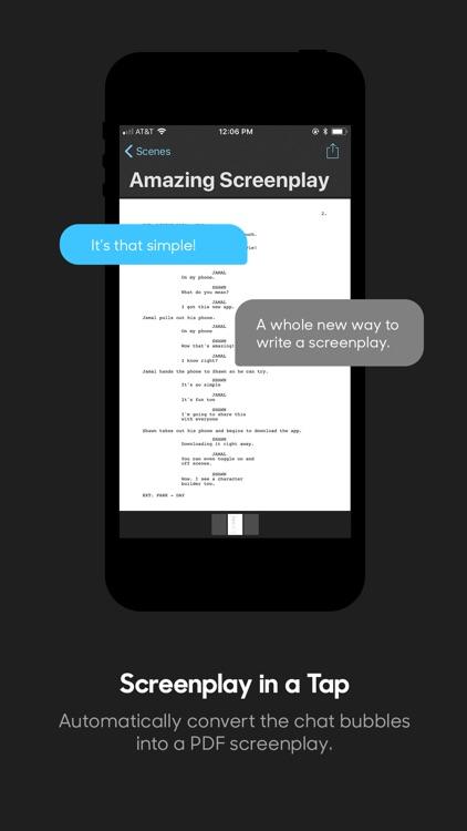 Dialogue : Screenplay Writer screenshot-4